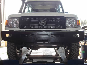 Modified Steel Front Bumper